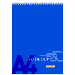 Gıpta Spiralli Karton Kapaklı Bloknot Pro Block A4 Çizgili 40 Yaprak 12' Li