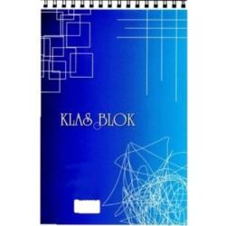 Klas Spiralli Bloknot A5 Kareli 100 Yaprak 6' Lı