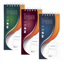 Keskin Color Truva Spiralli Bloknot Çizgili 7,5 cm x 17 cm 50 Yaprak 6' Lı