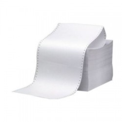 Meteksan Sürekli Form 11'' x 24 cm 1 Nüsha 60 gr/m2 1000 Adet