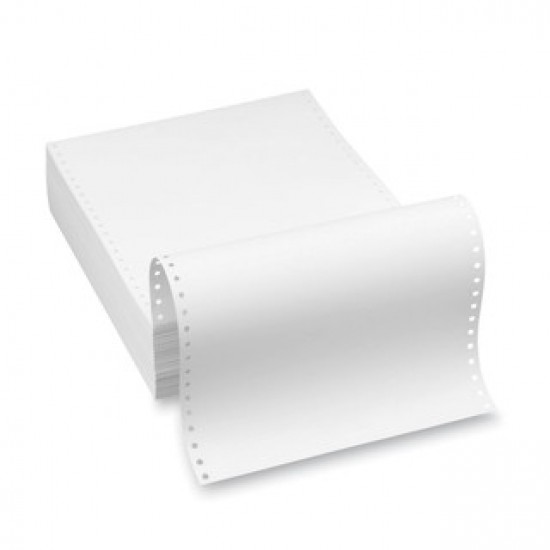 Meteksan Sürekli Form 11'' x 24 cm 1 Nüsha 60 gr/m2 2000 Adet