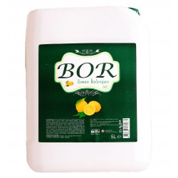 Bor Limon Kolonyası 80 Derece 5 Lt