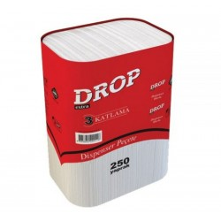 Drop 3 Katlama Dispenser Peçete 250 Yaprak 18' Li