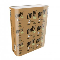 Only Plus Dispenser Havlu 22 Cm x 23 Cm 250 Yaprak 12' Li