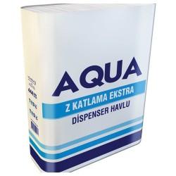 Aqua Dispenser Havlu 21 Cm x 22 Cm 180 Yaprak 12' Li
