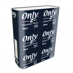 Only Conforline Dispenser Havlu 23 Cm x 23 Cm 200 Yaprak 12' Li