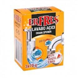 Erfresh Lavabo Açıcı 3x70 Gr