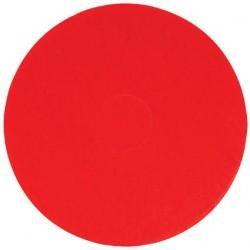 Ceymop Yer Yıkama Pedi 51 cm Kırmızı 5' Li