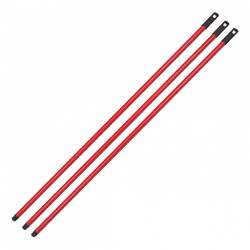 Metal Sap Vidalı Kırmızı 110 cm
