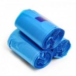 Orta Boy Çöp Poşeti 55 cm x 60 cm Mavi 50' Li