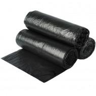 Büyük Boy Çöp Poşeti 65 cm x 80 cm Siyah 80 Gr 50' Li