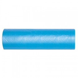 Büyük Boy Çöp Poşeti 65 cm x 80 cm Mavi 50' Li