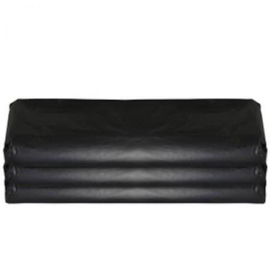 Dökme Çöp Poşeti 100 cm x 120 cm Çift Dikiş Siyah 20 Kg