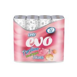 Only Evo 3 Katlı Parfümlü Tuvalet Kağıdı 32' Li 3 Paket
